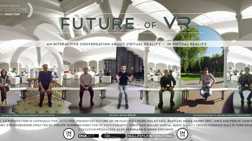 Future of VR, interactive experience